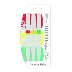 (892N)Nuvo aqua flow pens - summer holidays