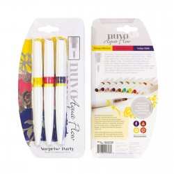 (896N)Nuvo aqua flow pens - suprise party