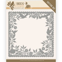(JAD10057)Dies - Jeanine's Art - Birds and Flowers - Birds Frame