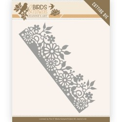 (JAD10058)Dies - Jeanine's Art - Birds and Flowers - Daisy Border