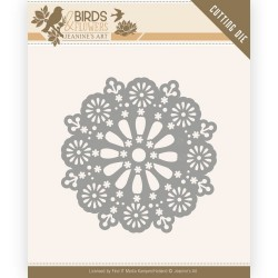 (JAD10060)Dies - Jeanine's Art - Birds and Flowers - Daisy Circle