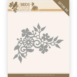 (JAD10062)Dies - Jeanine's Art - Birds and Flowers - Birds Corner