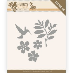 (JAD10063)Dies - Jeanine's Art - Birds and Flowers - Birds Foliage
