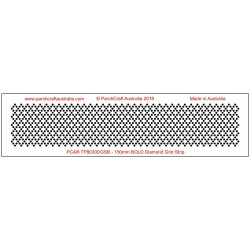 (TP8030DGSB)PCA BOLD Diamond Grid Strip