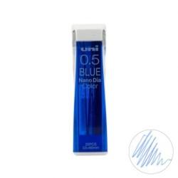 (0.5202NDC33)Uni NanoDia Color Erasable Lead - 0.5 mm - Blue