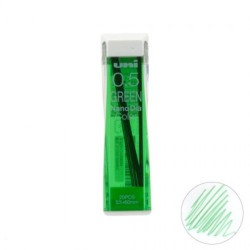 (0.5202NDC6)Uni NanoDia Color Erasable Lead - 0.5 mm - Green