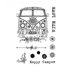 (PI003)Pink Ink Desings Camper
