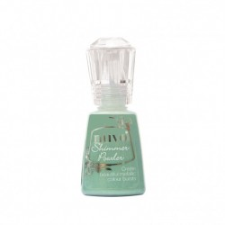 (1214N)Tonic Studios Nuvo shimmer powder 20ml green parade