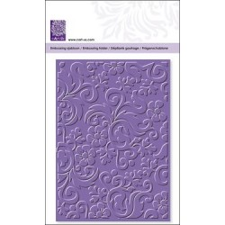 Embossing folder flowers a. orname (22747)