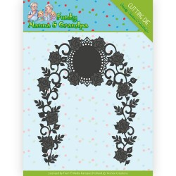 (YCD10158)Dies - Yvonne Creations - Funky Nanna's - Floral Arch
