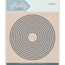 (CDECD0020)Card Deco Essentials Cutting Dies Round