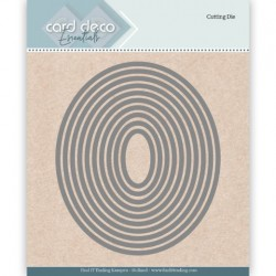 (CDECD0021)Card Deco Essentials Cutting Dies Oval