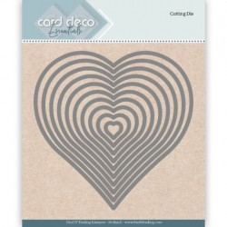 (CDECD0024)Card Deco Essentials Cutting Dies Heart
