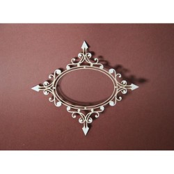 (RAMKA_103)Filigranki Laser Cut Chipboards ornamental frame