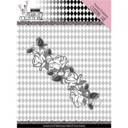 (YCD10162)Dies - Yvonne Creations- Pretty Pierrot 2 - Rose Border