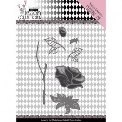 (YCD10163)Dies - Yvonne Creations- Pretty Pierrot 2 - Rose
