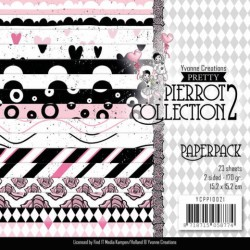 (YCPP10021)Paperpack - Yvonne Creations- Pretty Pierrot 3