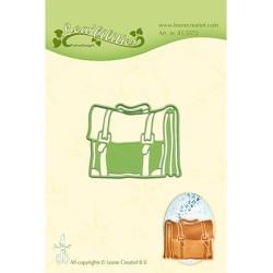 (45.5572)Lea'bilitie Cutting/Emb Patch die Schoolbag