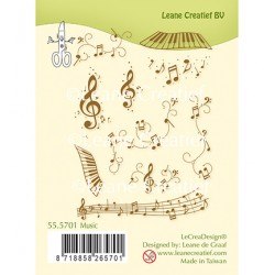 (55.5701)Clear Stamp Music