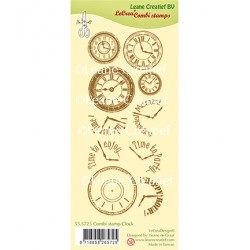 (55.5725)Clear Stamp Clock