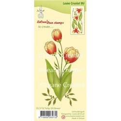 (55.5732)Clear Stamp 3D Flower Tulip