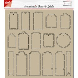 (6002/0881)Polybesastencil - Tags & Labels
