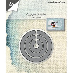 (6002/1239)Cutting dies Sliders circles