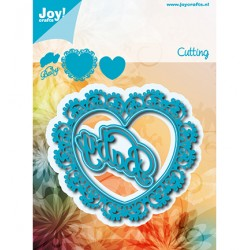 (6002/1250)Cutting dies Noor - Heart - Baby