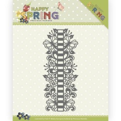 (PM10147)Dies - Precious Marieke - Happy Spring - Ribbon Border