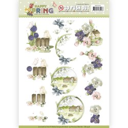 (SB10328)3D Pushout - Precious Marieke - Happy Spring - Happy on the Farm