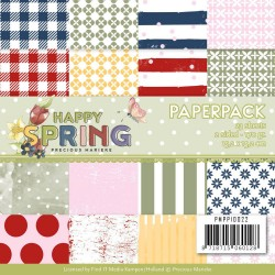 (PMPP10022)Paperpack - Precious Marieke - Happy Spring