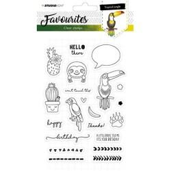 (STAMPSL334)Studio light Stamp Favourites nr. 334