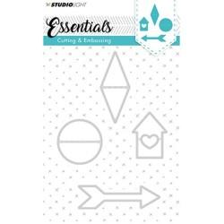 (STENCILSL142)Studio Light Cutting and Embossing Die, Essentials...