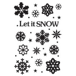 Embossing Folders Let it snow (CTFD 3072)