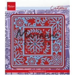 (LR0577)Creatables  Flower Frame square