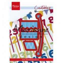 (LR0581)Creatables Bunting Banners