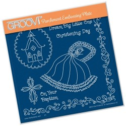 (GRO-CN-41164-03)Groovi Plate A5 LINDA'S DREAM BIG LITTLE ONE