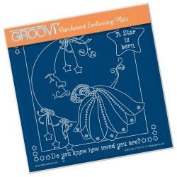 (GRO-CN-41167-03)Groovi Plate A5 LINDA'S A STAR IS BORN