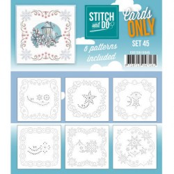 (COSTDO10045)Stitch & Do - Cards only - Set 45
