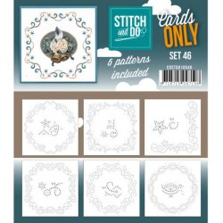 (COSTDO10046)Stitch & Do - Cards only - Set 46