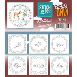 (COSTDO10048)Stitch & Do - Cards only - Set 48