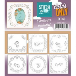 (COSTDO10050)Stitch & Do - Cards only - Set 50