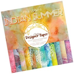 "(ACC-CA-30749-12)GROOVI DESIGNER CRAFT PAPER 12"" X 12"" INDIAN SUMMER"
