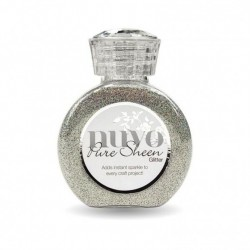 (719N)Tonic Studios Nuvo pure sheen glitter 100ml mirrorball