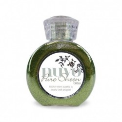 (701N)Tonic Studios Nuvo pure sheen glitter 100ml olive green
