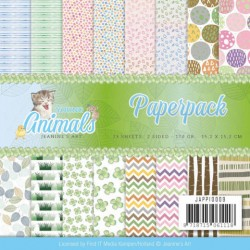 (JAPP10009)Paperpack - Jeanine's Art - Young Animals