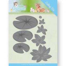 (JAD10069)Dies - Jeanine's Art - Young Animals - Lily Pond Leaves