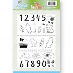 (JACS10024)Clear Stamps - Jeanine's Art - Young Animals