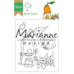 (HT1641)Clear stamp Hetty's Fairy house