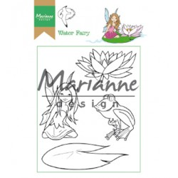 (HT1646)Clear stamp Hetty's Water Fairy